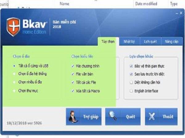 Phần mềm bkav - phần mềm diệt virus