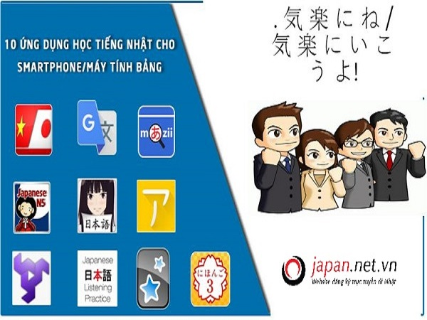 Các phần mềm học tiếng Nhật hiệu quả nhất