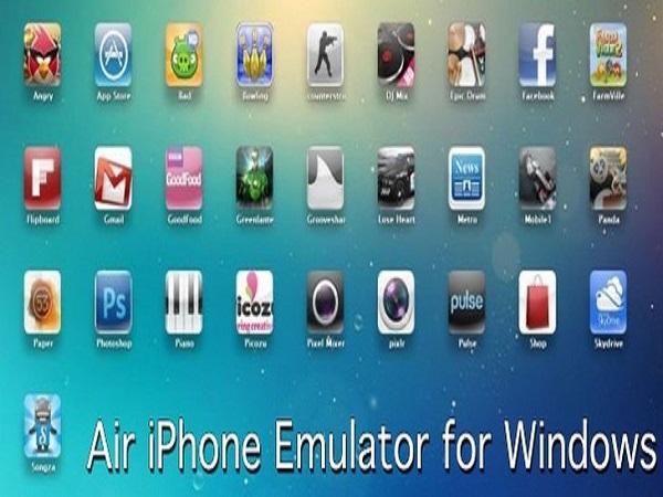 Trìnhgiảlập IosAir iPhone Emulator