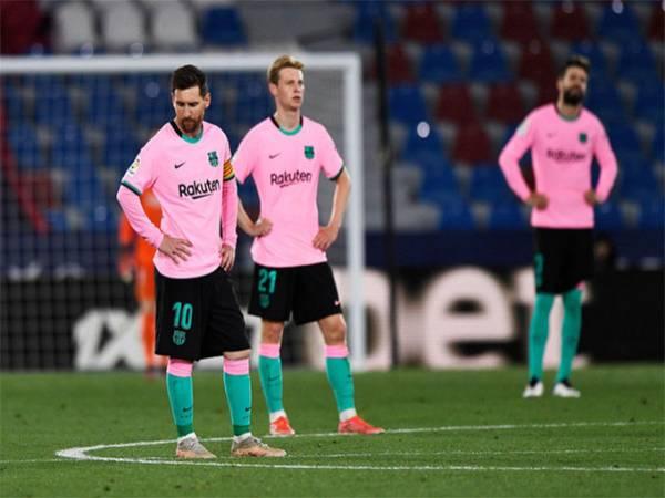 Bóng đá hôm nay 12/5: Blaugrana lại bước hụt